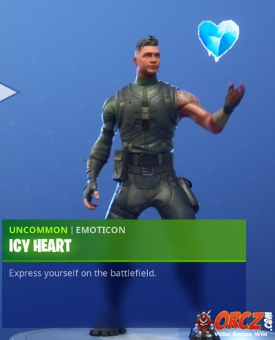 Fortnite Battle Royale: Icy Heart - Orcz com, The Video Games Wiki