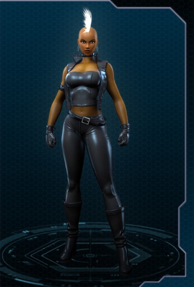 marvel heroes storm mohawk costume orczcom the video