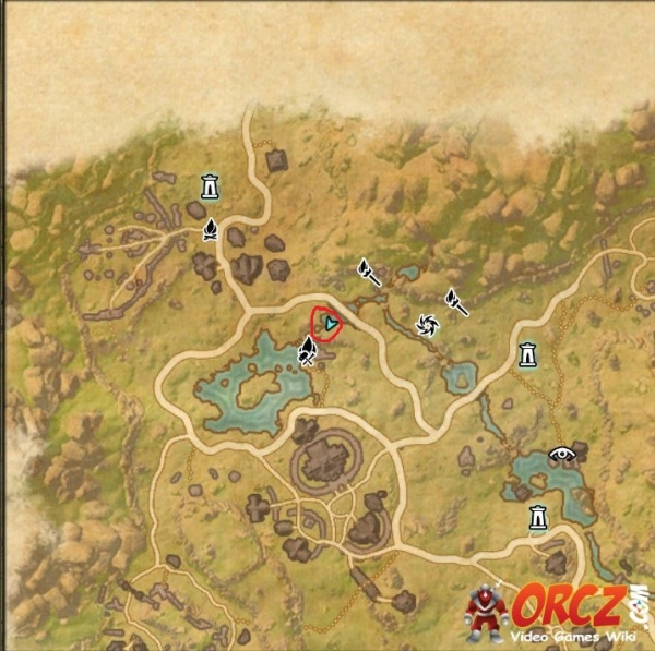 ESO: Deshaan Treasure Map II - Orcz.com, The Video Games Wiki on
