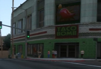 Fast Food Restaurants In Grand Theft Auto V