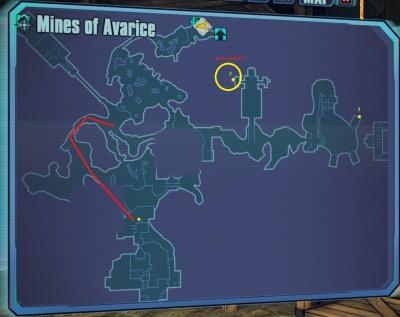 Borderlands 2: Cult of the Vault Mine of Avarice - Orcz ... | 400 x 317 jpeg 42kB