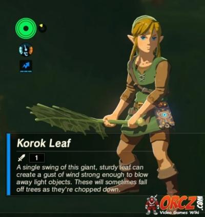 Breath of the Wild: Korok Leaf - Orcz com, The Video Games Wiki