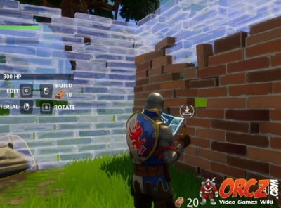 you can build a wall in fortnite br - how to edit walls in fortnite