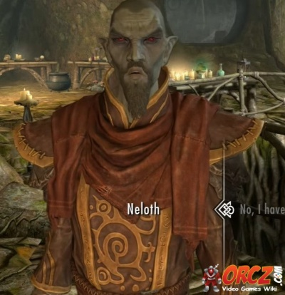Skyrim Dragonborn: Talk to Neloth - Reluctant Steward - Orcz