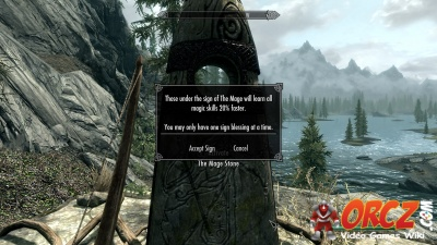 Skyrim The Mage Stone Orczcom The Video Games Wiki