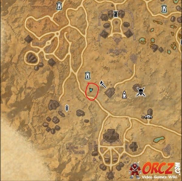 ESO: Stonefalls Treasure Map V - Orcz.com, The Video Games Wiki