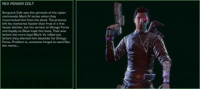 Far Cry 3 Blood Dragon Rex Power Colt Orcz Com The Video Games