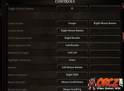 Divinity Original Sin 2: Keyboard Controls - Orcz com, The