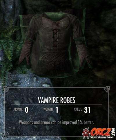 Skyrim Vampire Robes Orcz Com The Video Games Wiki
