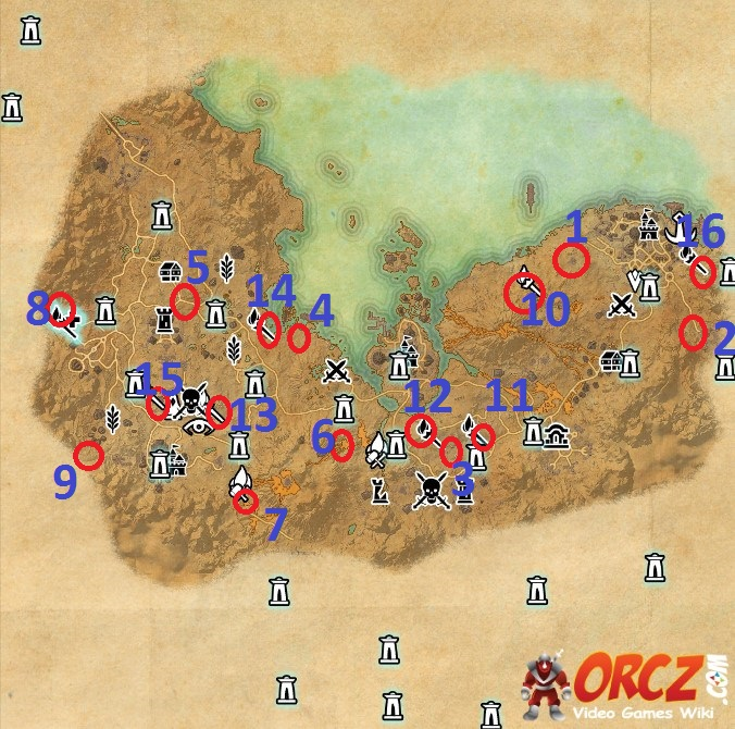 Stonefalls Skyshard Map ESO: Stonefalls Skyshard Map   Hightide Hollow   Orcz.com, The  Stonefalls Skyshard Map