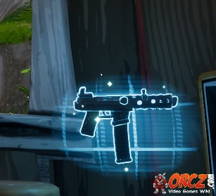 fortnite battle royale rare submachine gun orczcom