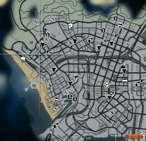 GTA V Map Taco Bomb Del Perro Plaza Orczcom The