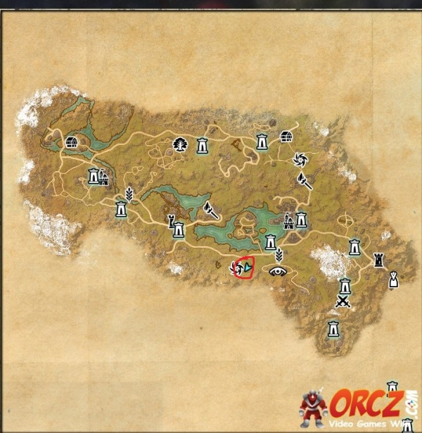 The Rift Ce Treasure Map ESO: The Rift CE Treasure Map   Orcz.com, The Video Games Wiki