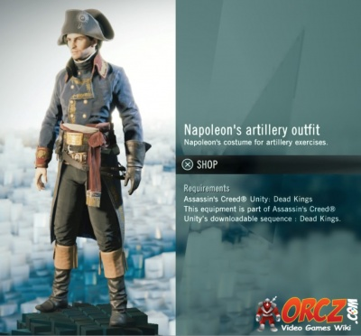 Assassin S Creed Unity Napoleon S Artillery Outfit Orcz Com