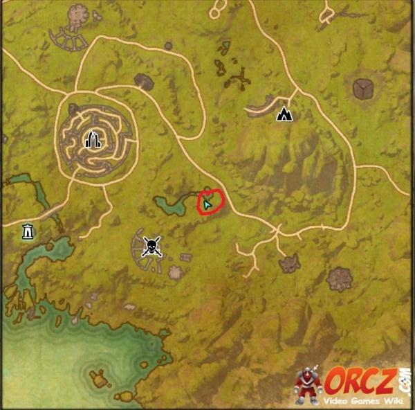 Greenshade Treasure Map 1 ESO: Greenshade Treasure Map I   Orcz.com, The Video Games Wiki Greenshade Treasure Map 1