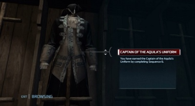 Assassin S Creed Iii Captain Of Aquila Outfit Amazon Edition