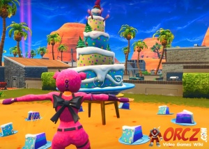 Fortnite Battle Royale Dance In Front Of Different Birthday Cakes Orcz Com The Video Games Wiki
