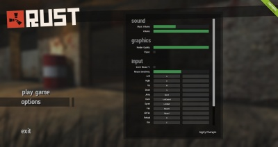 Whats tyhe best grahpic option for rust