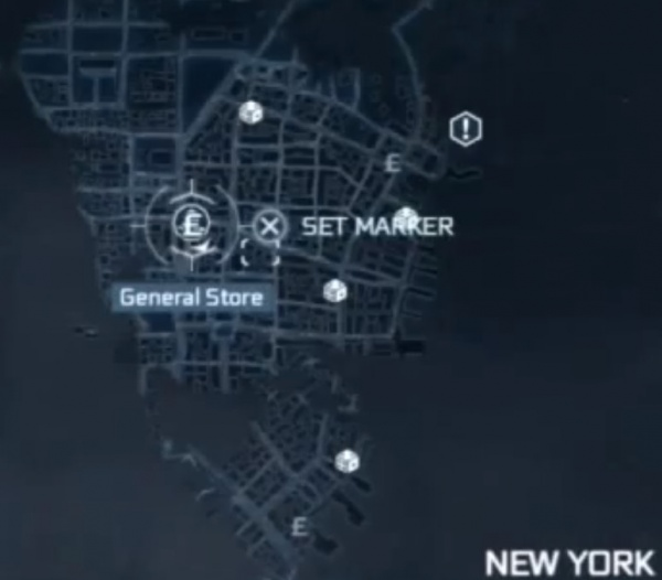 Assassin S Creed Iii New York General Stores Locations Map Orcz