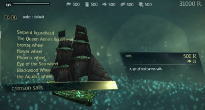 Assasin S Creed Iv Jackdaw Upgrades Orcz Com The Video Games Wiki