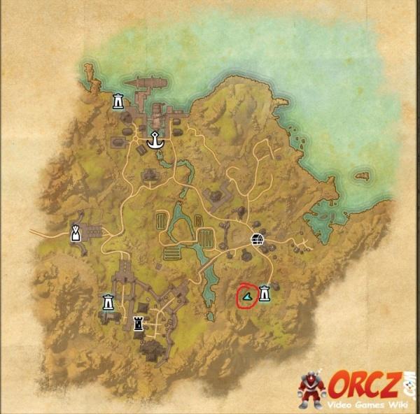 Bal Foyen Treasure Map 1 ESO: Bal Foyen Treasure Map I   Orcz.com, The Video Games Wiki