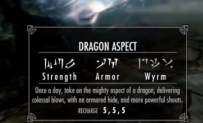 Skyrim Dragonborn Dragon Aspect Orcz Com The Video Games Wiki This shout represents the true aspect of dragons , their power, and the dragonborn 's power. skyrim dragonborn dragon aspect orcz