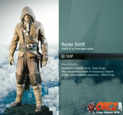 Assassin S Creed Unity Raider Outfit Orcz Com The Video Games Wiki