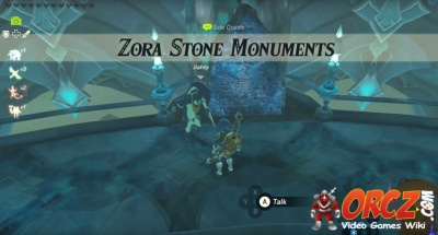 Breath Of The Wild Zora Stone Monuments Orcz Com The Video