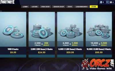 Fortnite Battle Royale V Bucks Orcz Com The Video Games Wiki Fortnite now commands more than 30 million online players with more and more players joining the battlefields. fortnite battle royale v bucks orcz