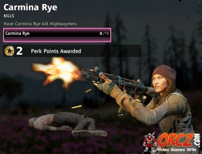 Far Cry New Dawn Carmina Rye Challenge Orcz Com The Video Games Wiki