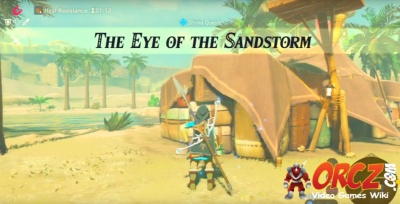 Breath Of The Wild Eye Of The Sandstorm Orcz Com The Video