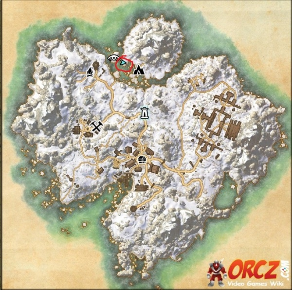 Bleakrock Treasure Map ESO: Bleakrock Treasure Map II   Orcz.com, The Video Games Wiki