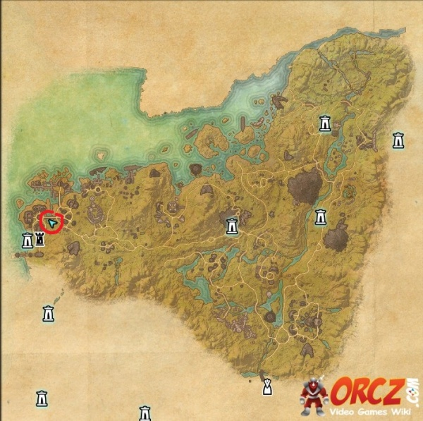 Malabal Tor Ce Treasure Map ESO: Malabal Tor CE Treasure Map   Orcz.com, The Video Games Wiki