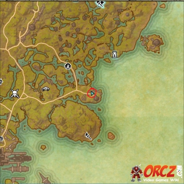 Glenumbra Treasure Map 1 ESO: Glenumbra CE Treasure Map   Orcz.com, The Video Games Wiki